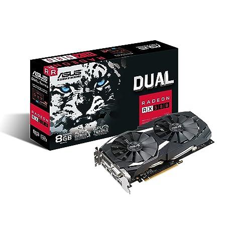 ASUS DUAL-RX580-8G Radeon RX 580 8 GB GDDR5 - Tarjeta ...