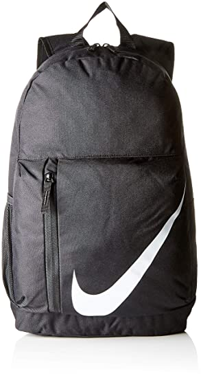 c247e6ec Nike Elemental Backpack, Unisex Child, Black White: Amazon.co.uk ...