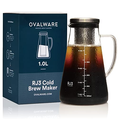 Ovalware-Cold-Brew-Iced-Coffee-Maker