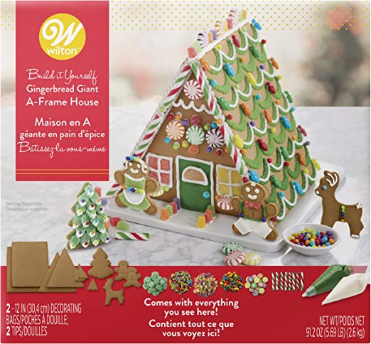 Wilton Ready,to,Decorate Gingerbread Giant A,Frame House