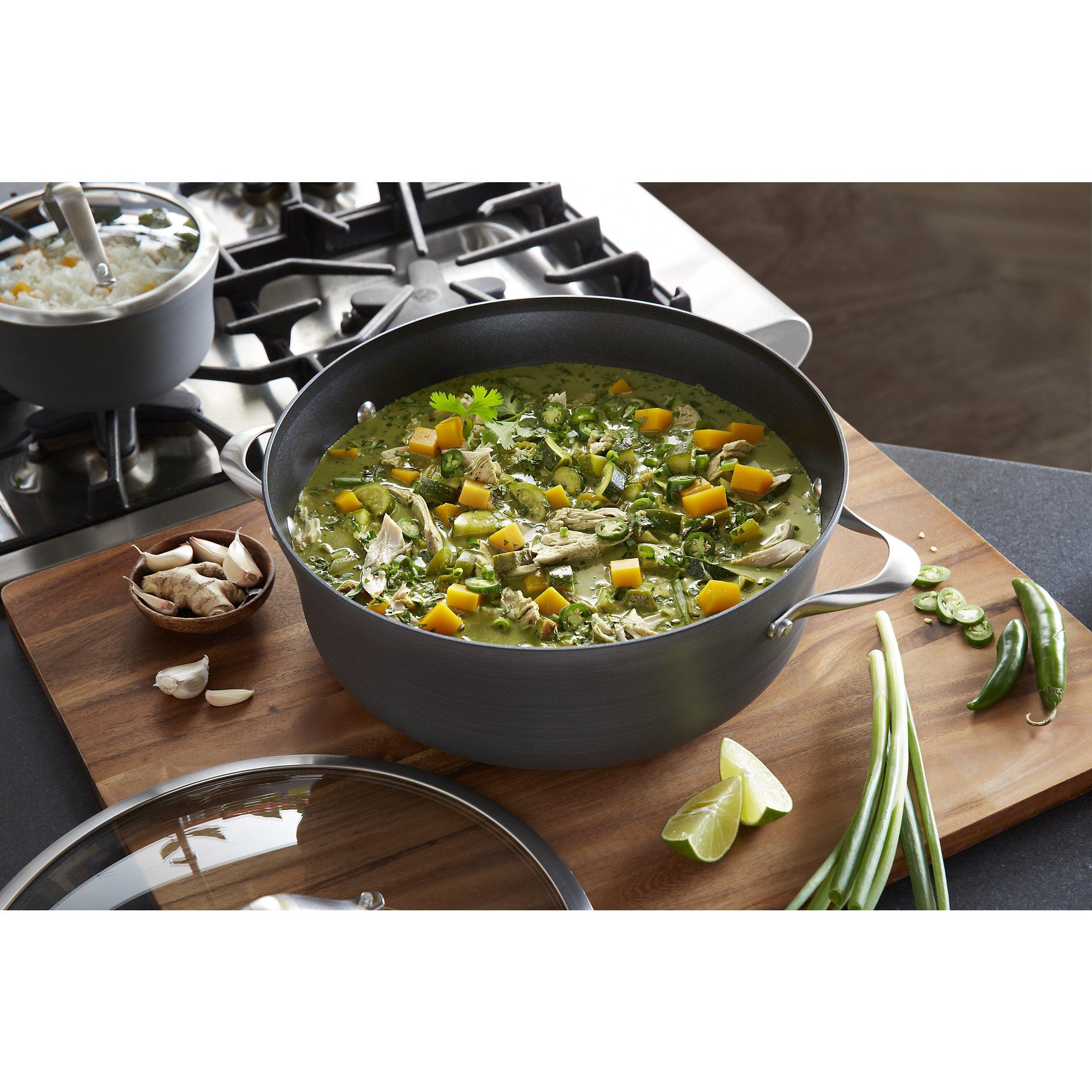Calphalon Pc Commercial Nonstick Hard Anodized Kitchen Cookware Set