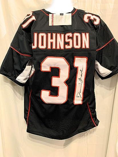 new style 51c33 07d19 David Johnson Arizona Cardinals Signed Autograph Black ...