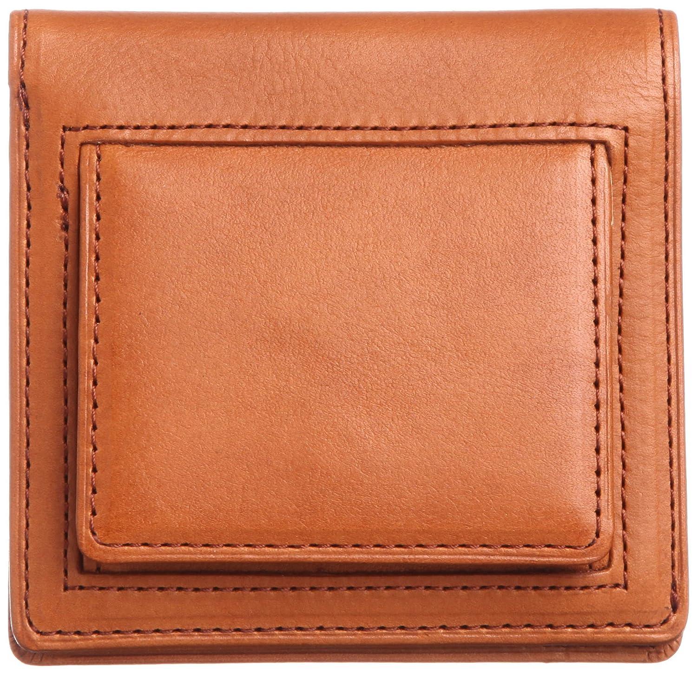 [スィンリー] THINly 財布 小銭入れ メンズ 二つ折り 薄型 日本製 B00ES5BGGU キャメル キャメル