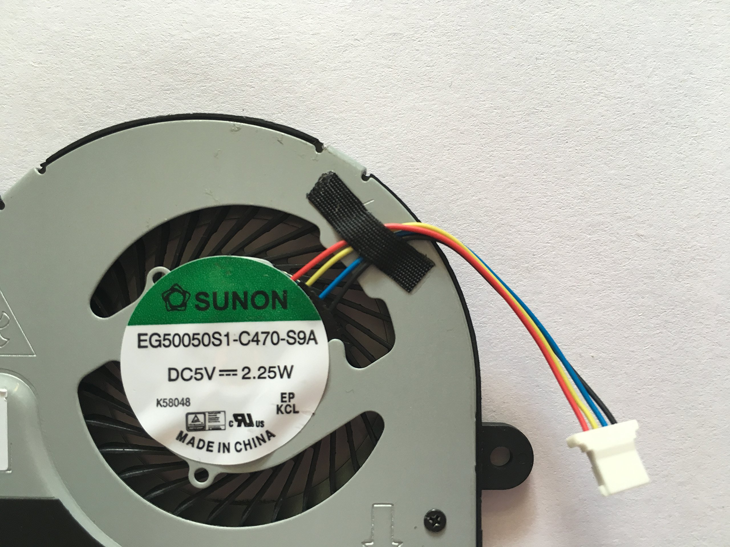 HK-part Replacement Fan for HP Pavilion 11-N 11-N000 X360 310 G1 Series Laptop Cpu Cooling Fan SPS 755729-001 by sywpart (Image #2)