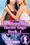 The Werewolf's Harem Saga Book 1 (An ELEVEN Book Bundle): (A Harem, Succubus, Witch, Supernatural, Cuckold Erotica)