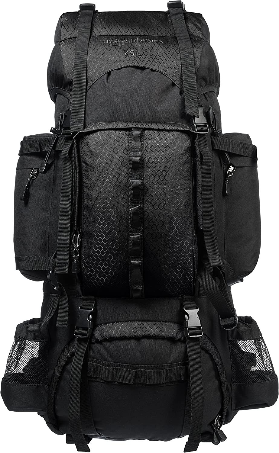 AmazonBasics Hiking Backpack with Rainfly