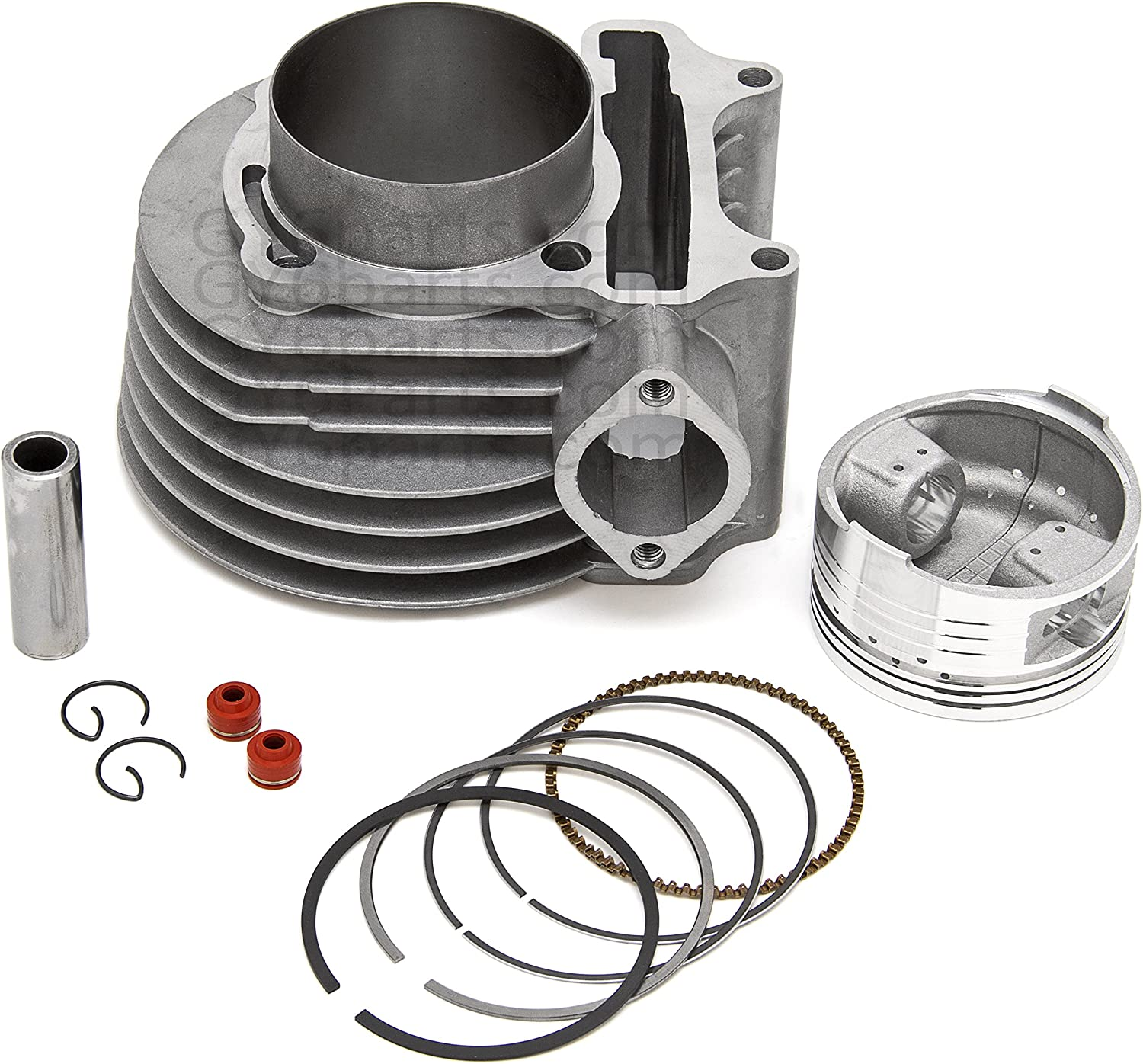 GY6 61mm Big Bore Kit 125cc and 150cc Engines 157QMJ 152QMI READ DETAILS