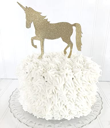 Amazoncom Unicorn Birthday Cake Topper Once Upon a Unicorn