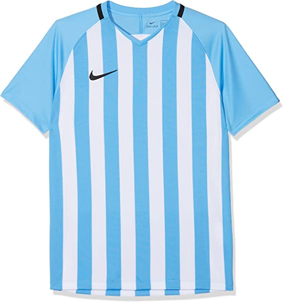Nike Kids' Striped Division III Football Jersey Camiseta de