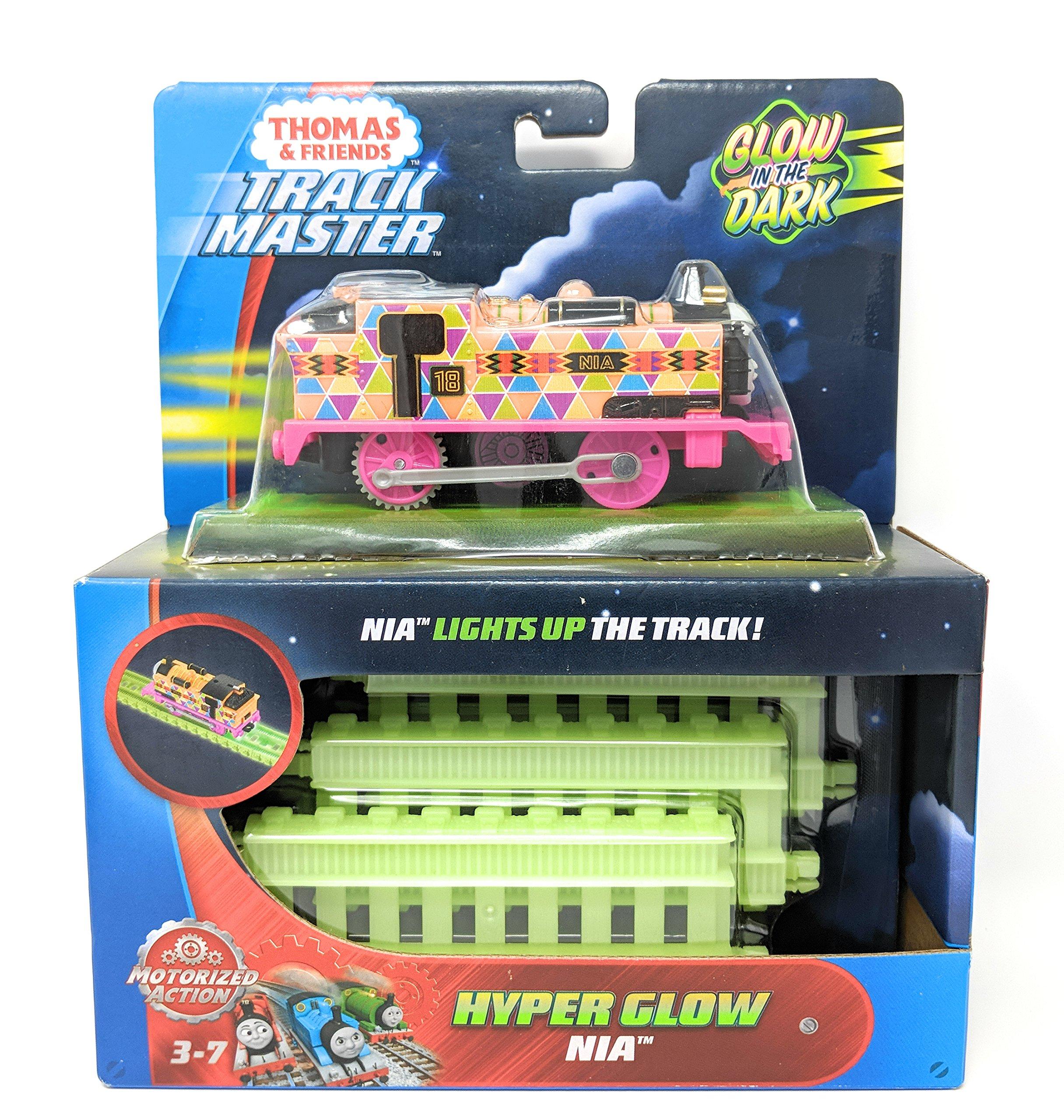 Thomas & Friends Fisher-Price TrackMaster, Motorized Hyper Glow Nia