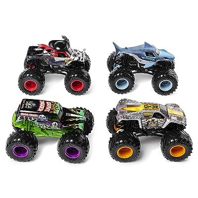 Monster Jam MNJ VHC 1to64 4Pack GML, 6053860, Multi-Coloured: Toys & Games