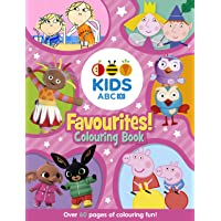 ABC KIDS Favourites Colouring Book (Pink)