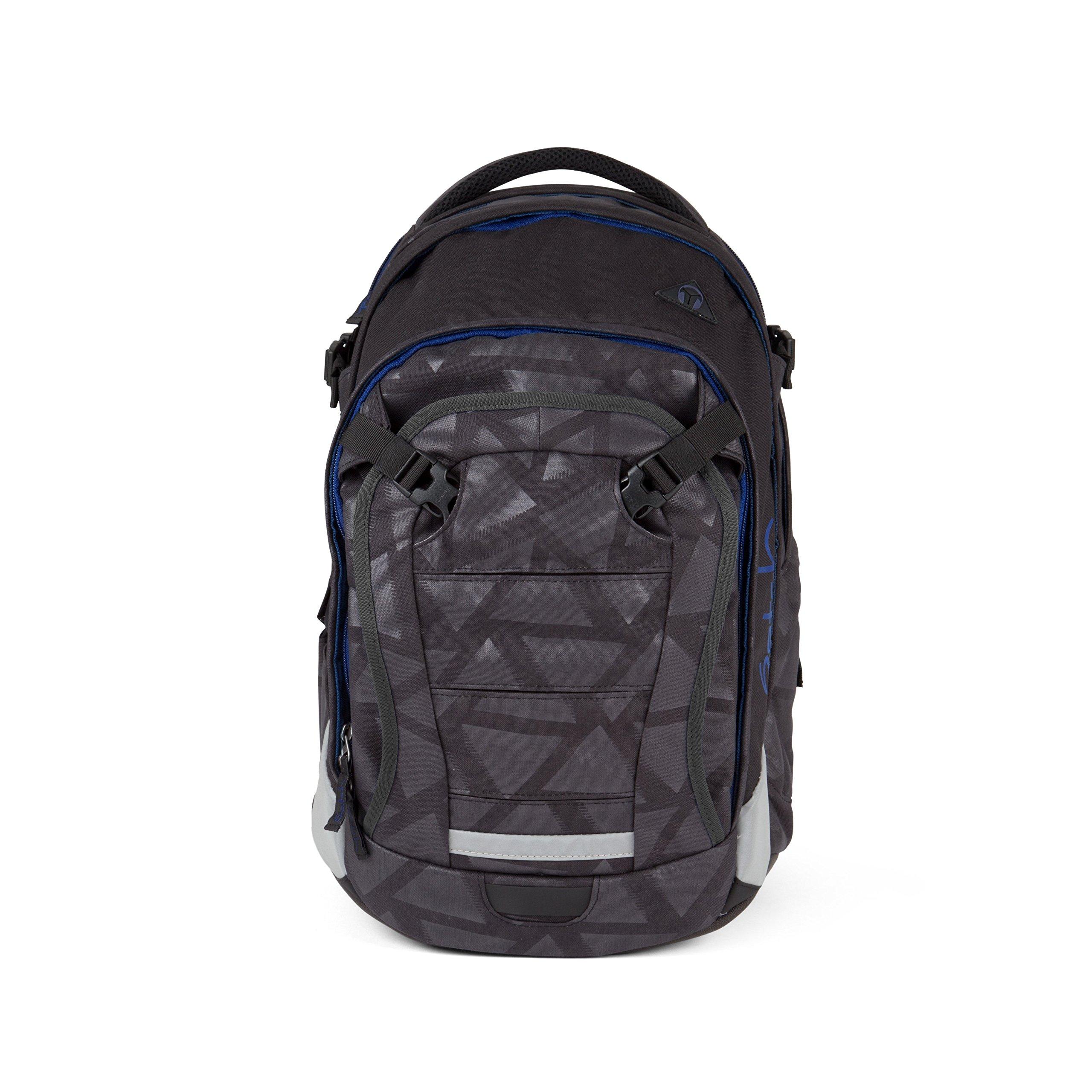 Satch match School Backpack | Black Triad by Satch