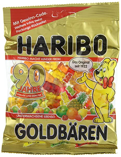 Haribo goldbaren (Oro Bears) – Pack de 6 x 200 g): Amazon ...