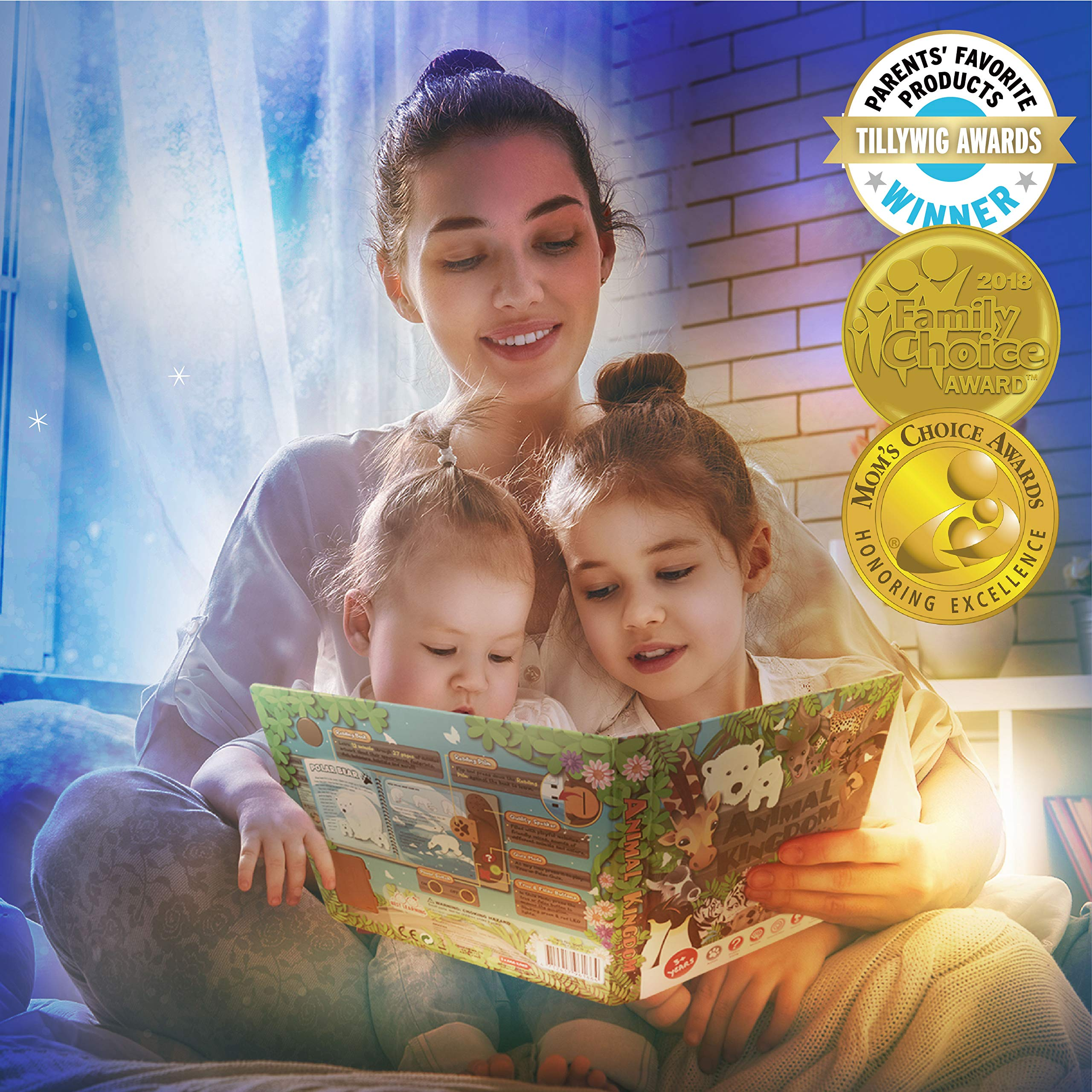 BEST LEARNING Book Reader Animal Kingdom - Educational Talking Sound Toy to Learn About Animals with Quiz Games for Kids Ages 3 to 8 Years Old by BEST LEARNING (Image #2)