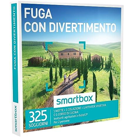 smartbox, Fuga con Divertimento - 325 Soggiorni in Agriturismi e Hotel 3*  Cofanetto Regalo, Soggiorni
