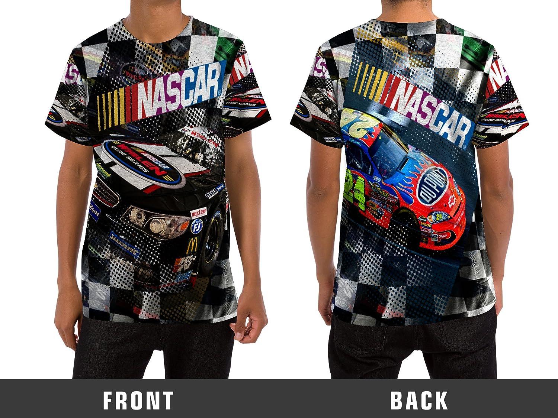 Amazon Nascar Mens T Shirt Custom Full Print Sublimation