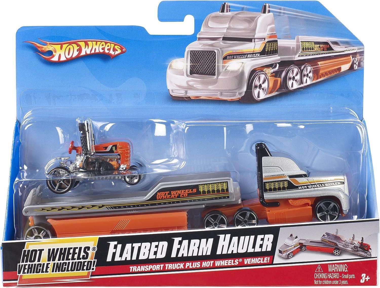 Hot Wheels Mattel - R1073 Carrier + vehículo - Casa de Grúa ...