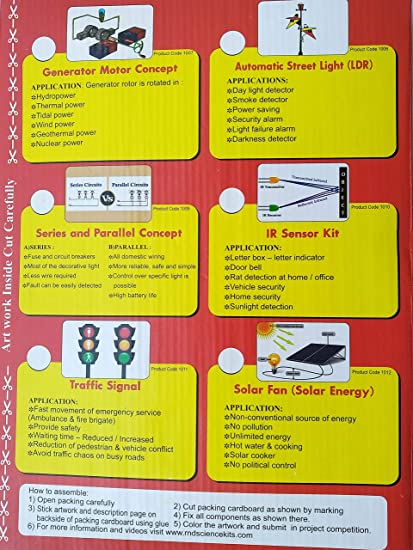 Basic Generator Motor Concept School Science Project Model Making DIY Kit  Science Educational Game RND PRODUCTS