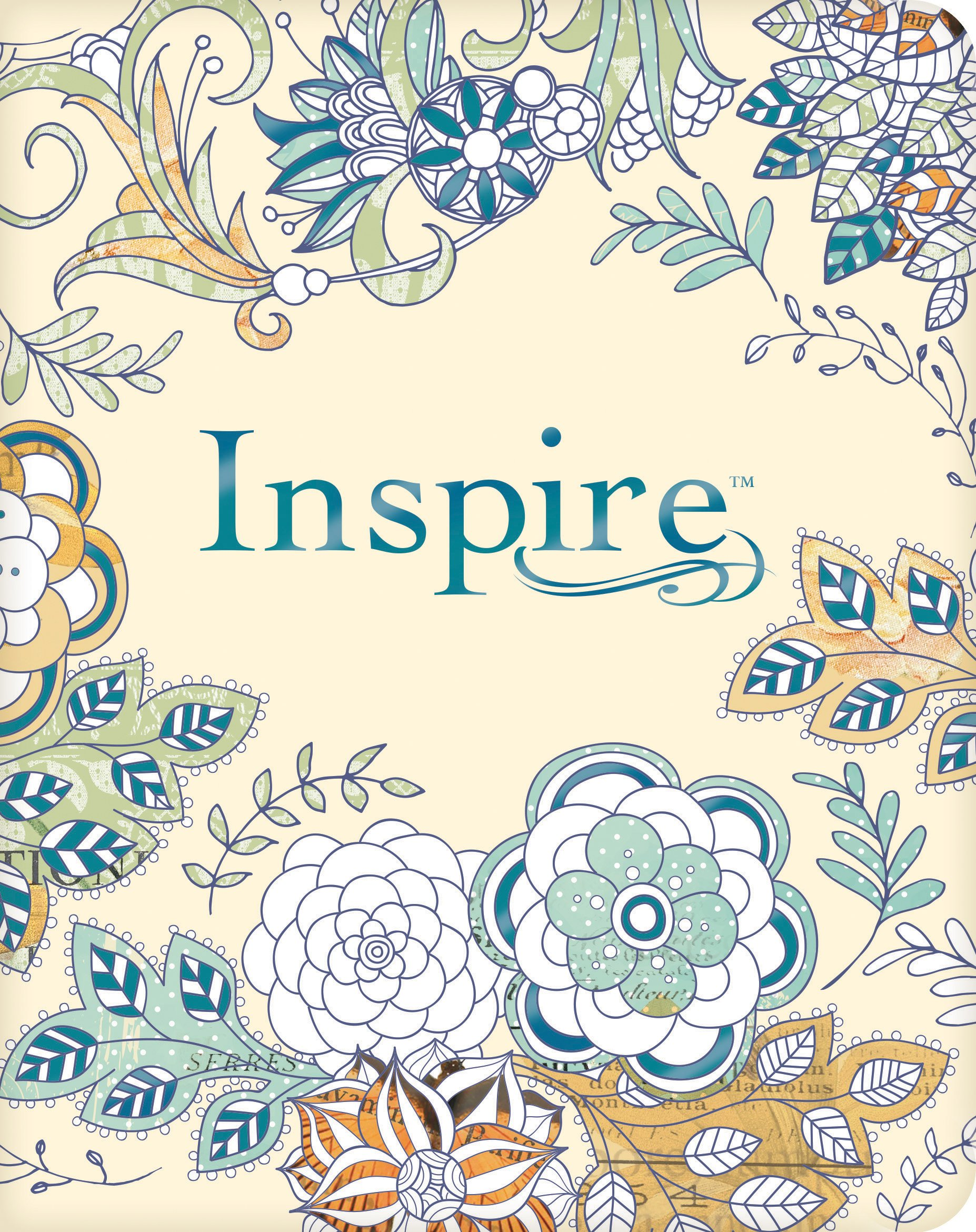Inspire Bible NLT The For Creative Journaling Tyndale Christian Art 9781496419842 Amazon Books