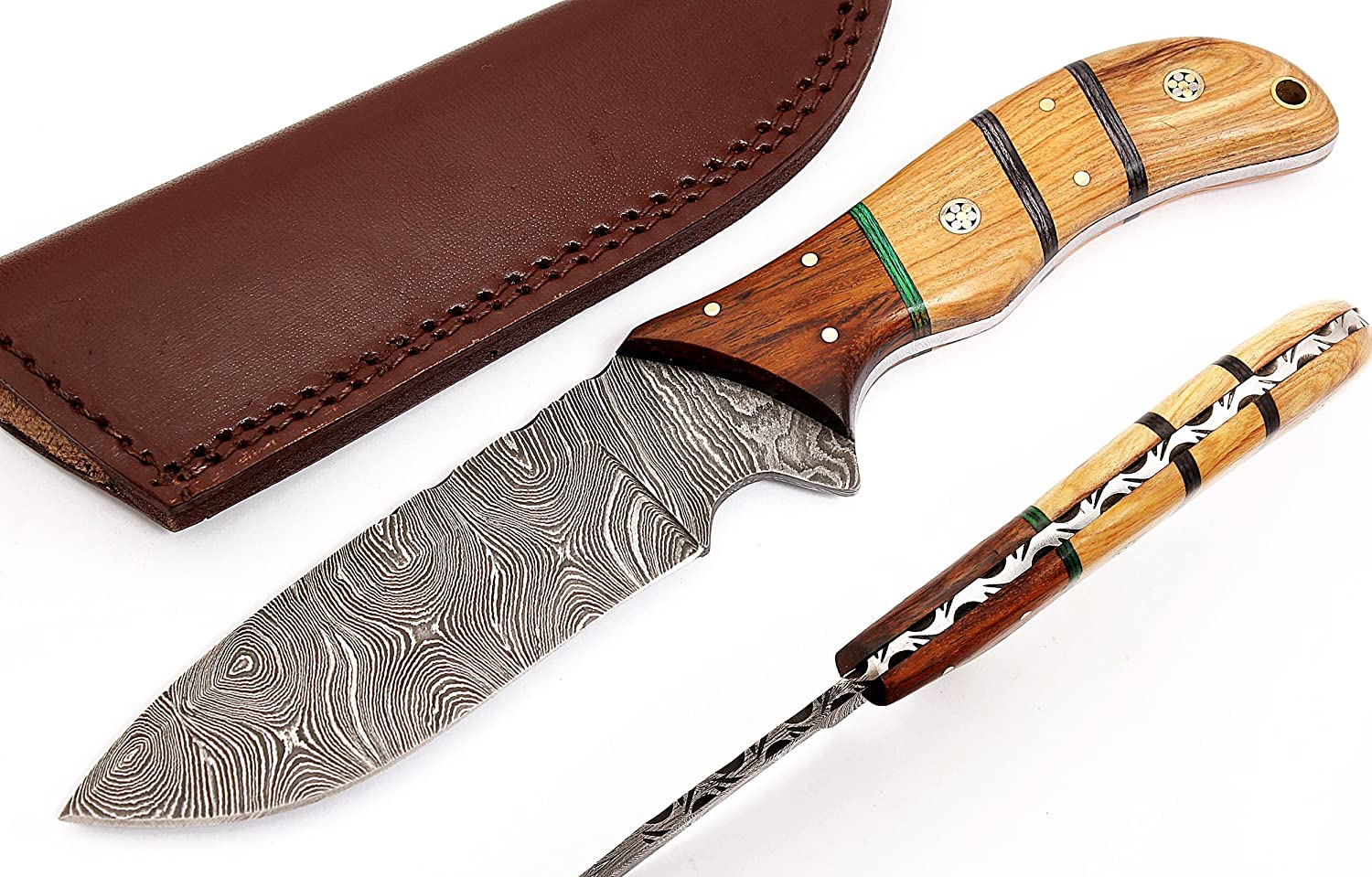 Best Quality Custom Handmade Damascus knife, useful hunting knife for hunterz Medium, 2712