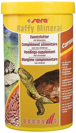Sera Reptil Raffy Mineral – Alimento mineral complementario en barritas, para tortugas y otros reptiles: Amazon.es: Productos para mascotas