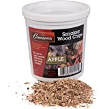 Apple Wood Smoking Chips - 1 Pint of Fine, Maple Wood Chips for Smokers - 100% Natural