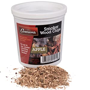 Camerons Smoking Chips- Kiln Dried, 100 Percent Natural Extra Fine Wood Smoker Sawdust Shavings (Apple, 1 Pint)