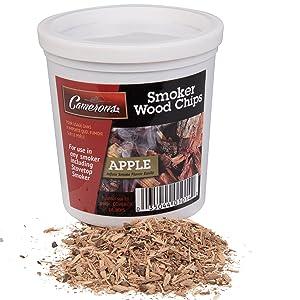 Camerons Smoking Chips- Kiln Dried, 100 Percent Natural Extra Fine Wood Smoker Sawdust Shavings (Apple, 1 Pint)