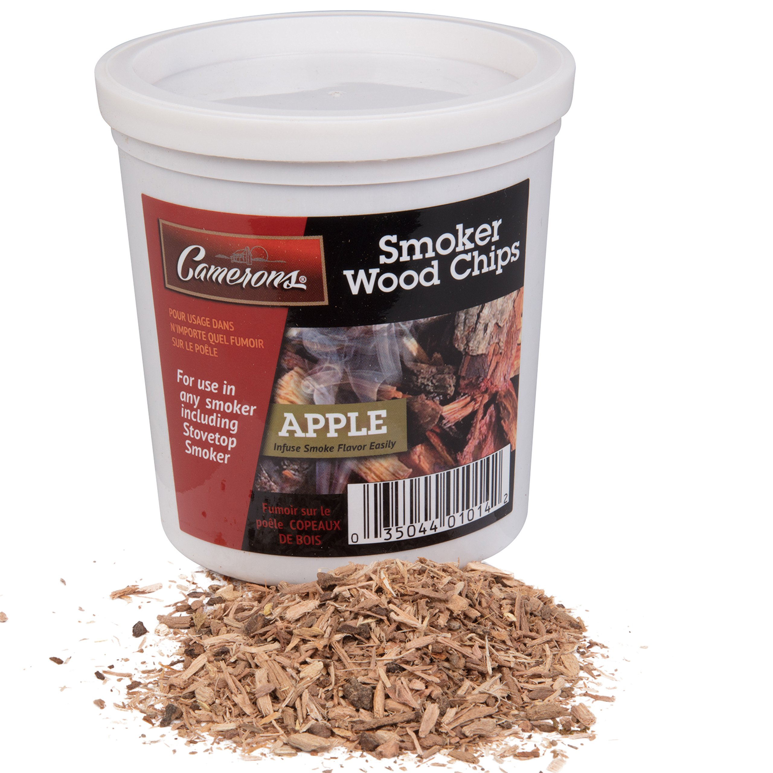 Camerons Smoker Wood Shavings - 1-pint Apple