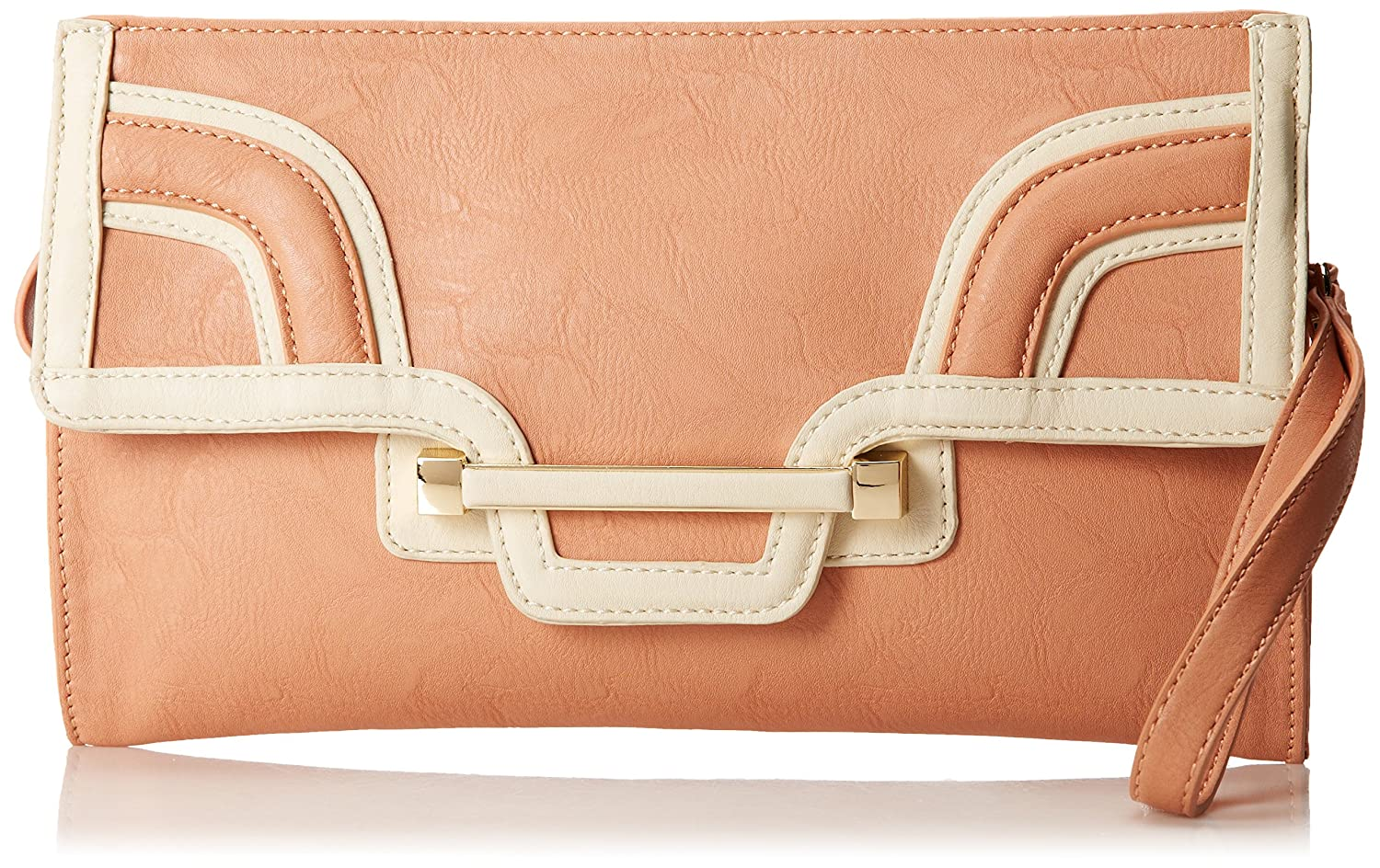 Amazon.com: Big Buddha Lia Wristlet Clutch, Rosado, talla ...