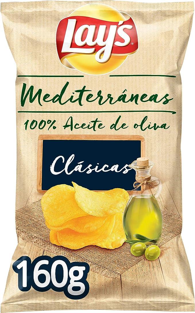 Lay S Mediterráneas 150g Patatas Fritas 100 Aceite Amazon Es Alimentación Y Bebidas