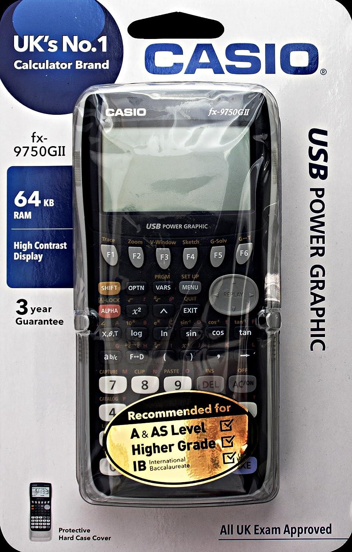 CASIO FX-9750GII - Calculadora gráfica, 21.3 x 87.5 x 180.5 mm ...