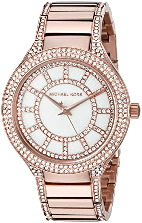 2a9b6eef0a78 Image Unavailable. Image not available for. Color  Michael Kors Women s Kerry  Rose Gold-Tone Watch MK3313