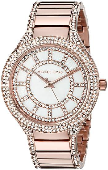 Michael Kors Reloj Analógico para Mujer de Cuarzo con Correa en Acero Inoxidable MK3313: Michael Kors: Amazon.es: Relojes