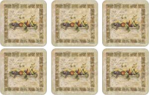 Pimpernel Tuscan Palette Collection Coasters - Set of 6
