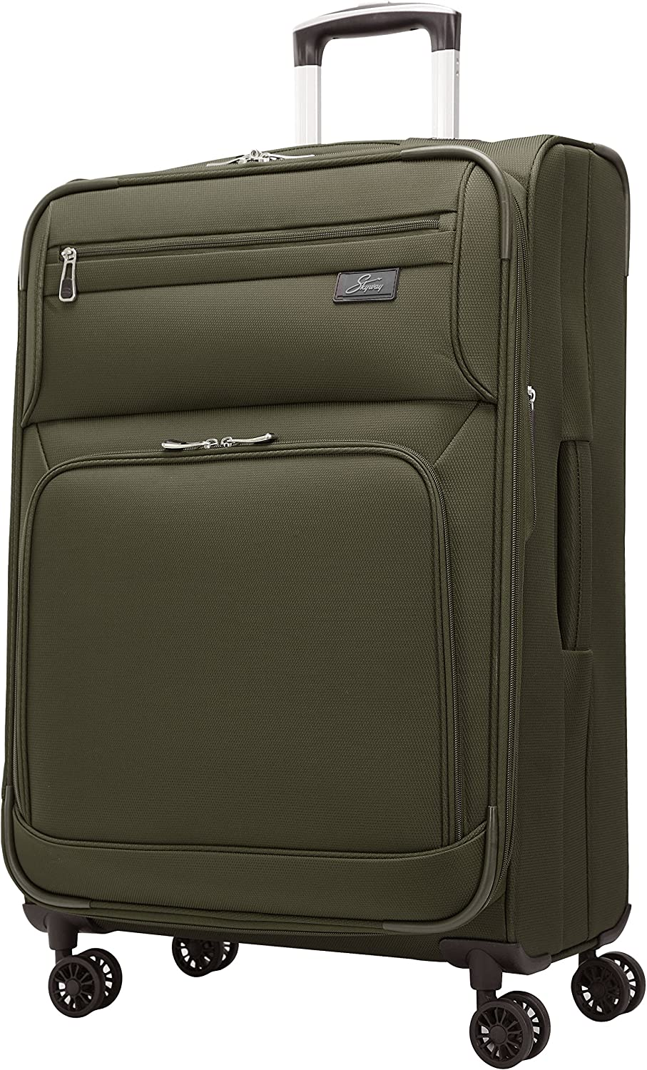 Skyway Sigma 5.0 25-Inch 4 Wheel Expandable Upright, Forest Green