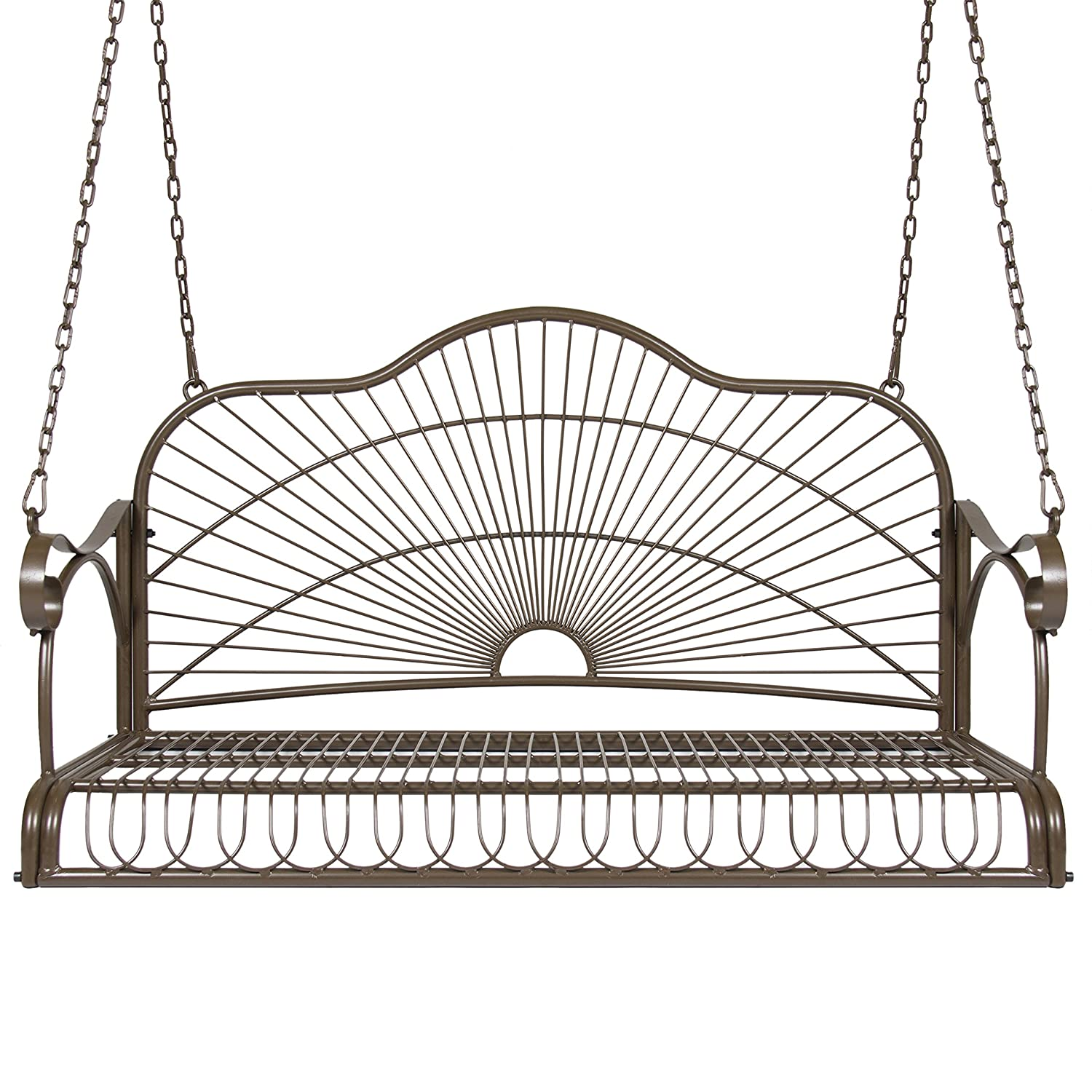 Amazon Best Choice Products Iron Patio Hanging Porch Swing