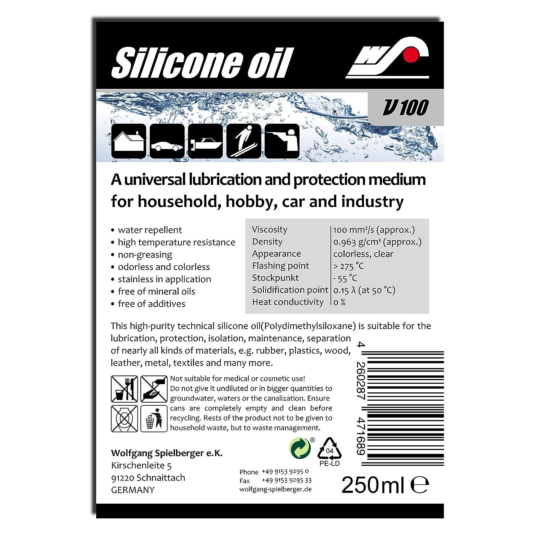 WS Silicone oil V100 - 250 ml