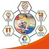 IgenToys Magnetic Blocks for Kids: Includes 100