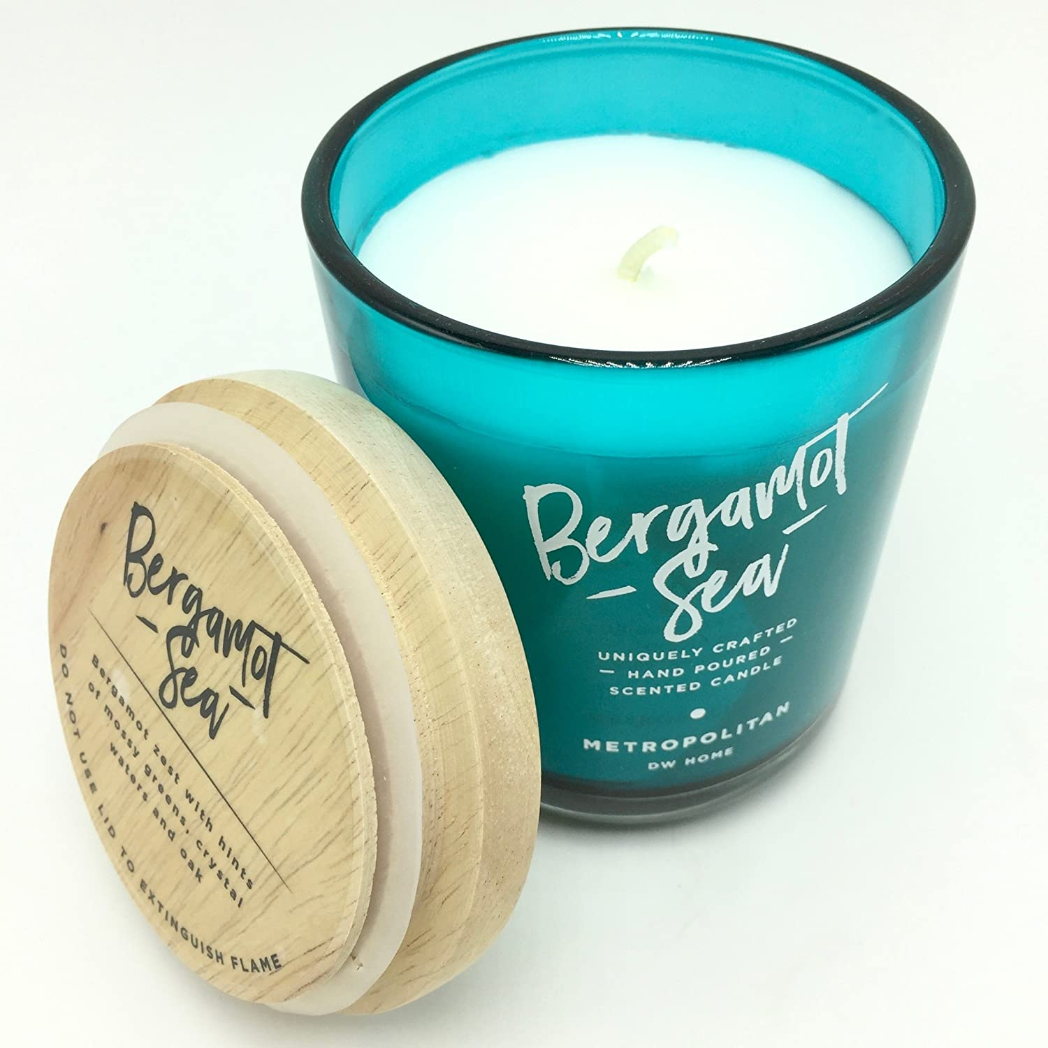 DW Home Metropolitan Collection Bergamot Sea Scented Candle