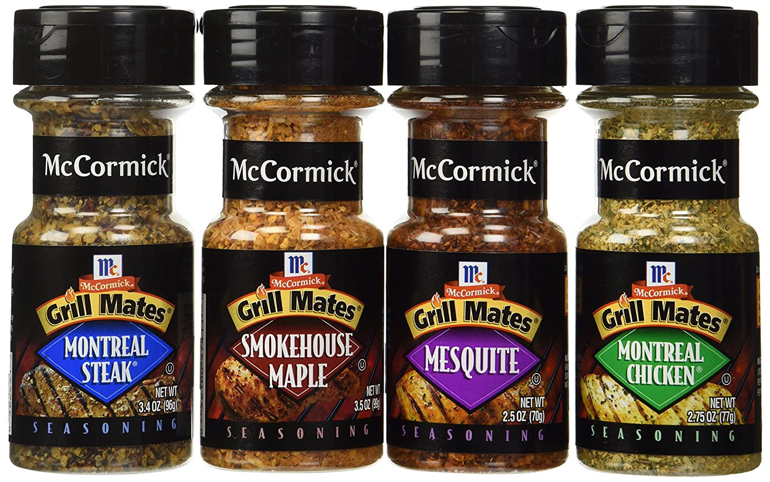 McCormick Grill Mates Variety Pack, Montreal Chicken, Montreal Steak, Mesquite