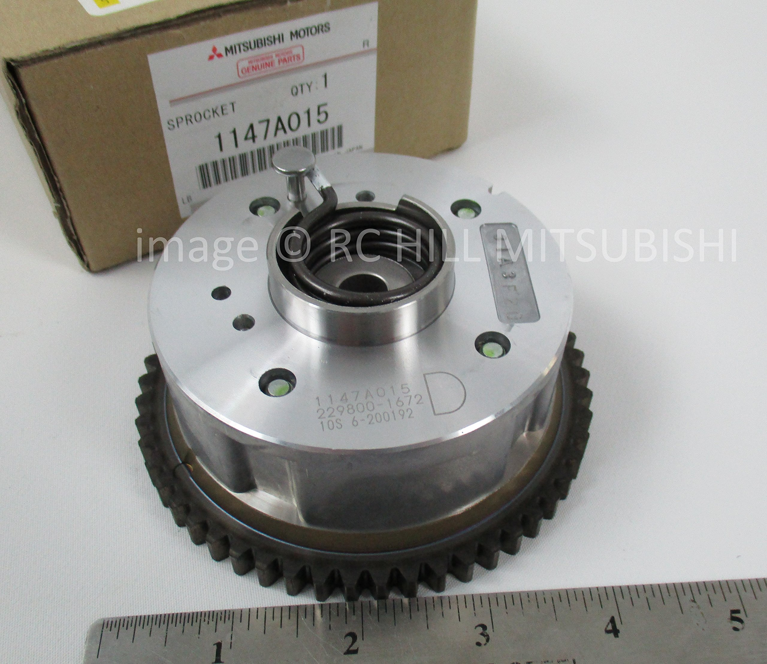 1147A015 GENUINE MITSUBISHI OEM FACTORY ORIGINAL SPROCKET LANCER & EVO 2.0L DOHC I4 MIVEC CAMSHAFT PLEASE SEND VIN# TO VERIFY ITEM APPLIES TO YOUR VEHICLE