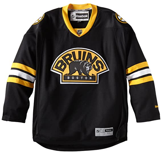 Amazon.com   Boston Bruins Reebok Premier NHL Road Jersey 57d99159c78