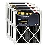 3. Filtrete 14x30x1, AC Furnace Air Filter, MPR 1200, Allergen Defense Odor Reduction, 6-Pack
