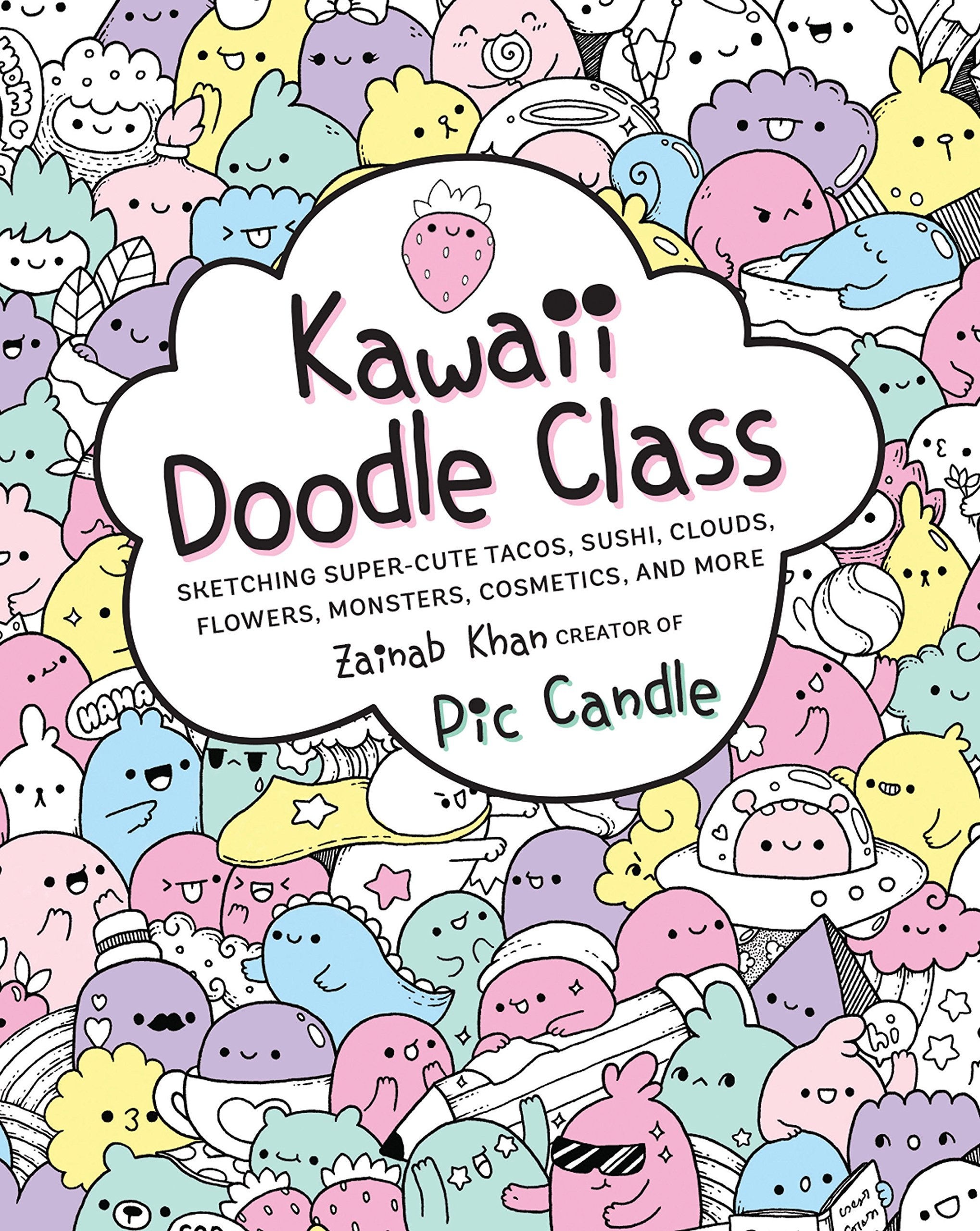 Kawaii Doodle Class: Sketching Super-Cute Tacos, Sushi