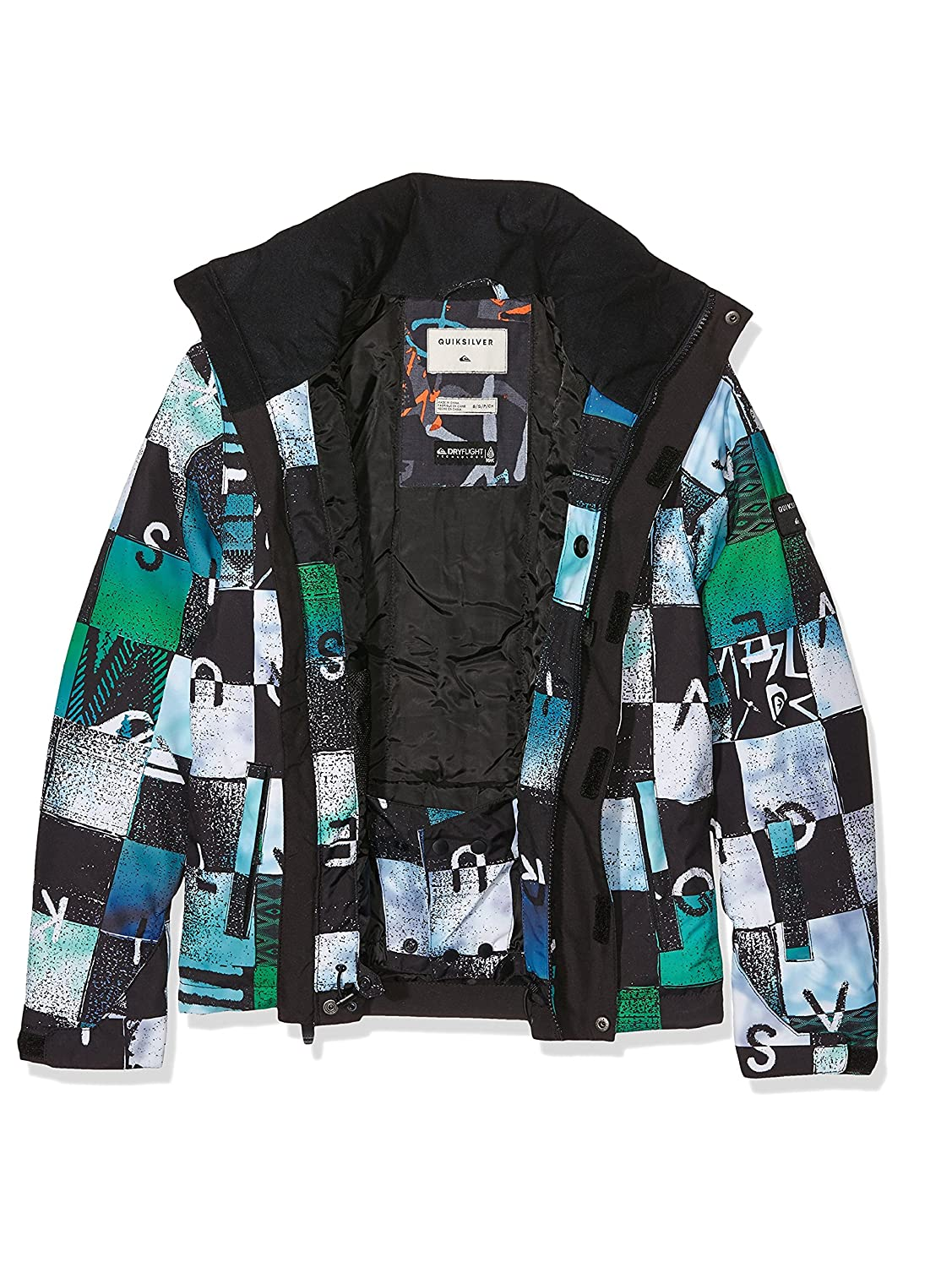 Quiksilver Mission Printed Youth - Chaqueta de nieve para ...