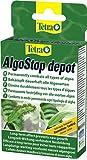 Tetra AlgoStop depot (formstabile Tabletten zur gezielten Langzeitbekämpfung von Algen in Aquarien, vernichtet Pinsel und Fadenalgen), 1er Pack (12 Tabletten)