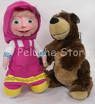 Masha y el Oso - Masha muñeco de peluche 15 cm 466032