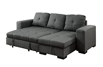 Stupendous Furniture Of America Charlton Contemporary Corner Sectional Machost Co Dining Chair Design Ideas Machostcouk